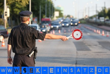 Verfolgungsfahrt mit Corvette | SEK angefordert | Polizist schwer verletzt | Zeugenaufruf