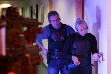 Spezialeinheit der Polizei Bayern bringt Messerstecher zur Aufgabe