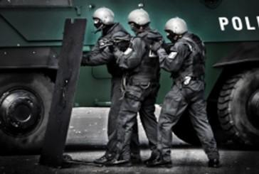 Spezialeinheit der Berliner Polizei nimmt Terrorverdächtigen fest