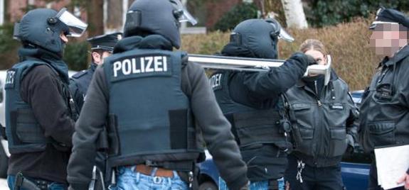 Polizeibeamte des MEK Hamburg | Symbolfoto