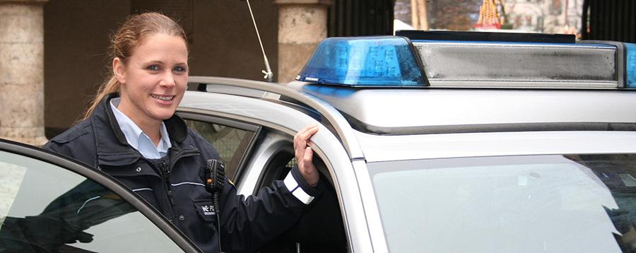 Polizeihauptmeisterin Sandra Glaser | Foto: © Polizei Ulm
