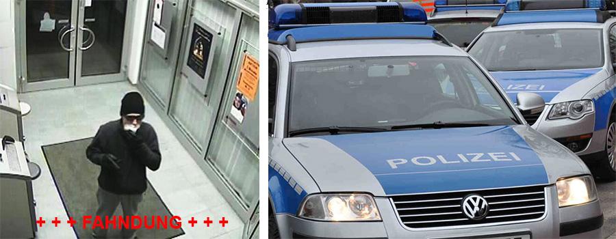 Die gesuchte Person beim Überfall | Foto: Polizei