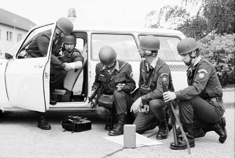 Polizeibeamte der GSG 9 im Jahre 1978 | Foto: Bundespolizei