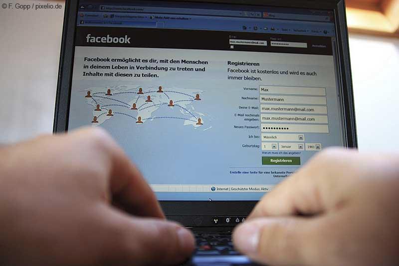 Betrugsmasche bei Facebook | © F. Gopp / pixelio.de