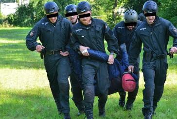 Vier verletzte SEK-Beamte beim Vergleichswettkampf Arminius