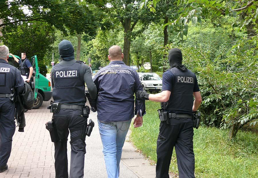 Festnahme in Hamburg | Symbolfoto: © Bundespolizei