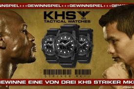 Das KHS Tactical Watches Gewinnspiel