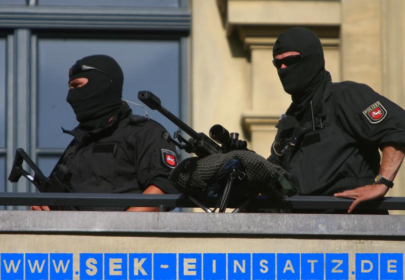 Polizeibeamte des SEK Niedersachsen | Foto Archiv: © Tim Schaarschmidt
