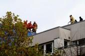 Mann drohte nach Zwangsräumung vom Dach zu springen