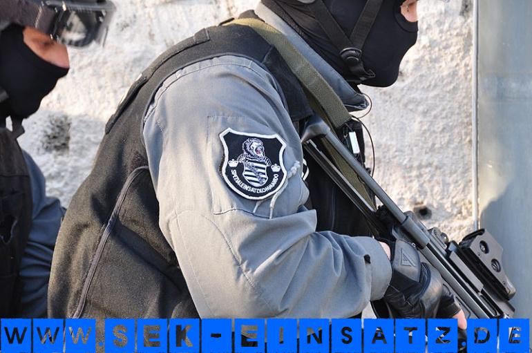 Symbolfoto SEK Sachsen © DNN-Online.de