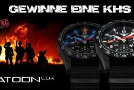 Gewinnbekanntgabe KHS Black Platoon Chronograph LDR