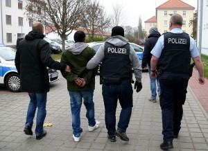 Bundespolizei-Festnahme