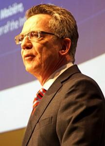Bundesinnenminister Dr. Thomas de Maizière | Foto: © Tomas Moll / Archiv