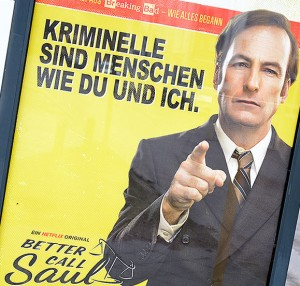 Better call Saul | Foto: © Tomas Moll