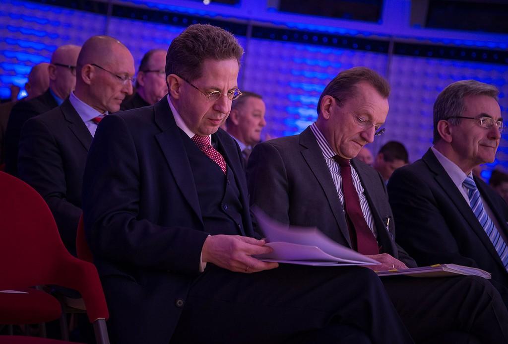 Der Präsident des Bundesamtes für Verfassungsschutz Hans-Georg Maaßen   Foto: © Tomas Moll