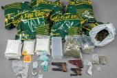 BTM Handel: Durchsuchungen und Haftbefehle vollstreckt
