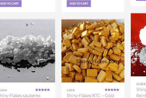Screenshot des Onlineshops des mittlerweile abgestellten Internetversandhandels