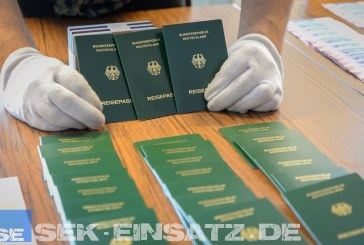 Sicherstellung von 1.100 gestohlenen Dokumenten