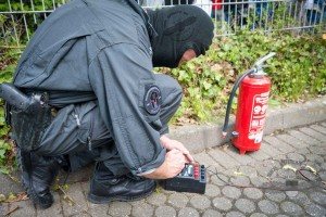 Vorbereitung zur Explosionsauslösung | Symbolfoto: © Tomas Moll