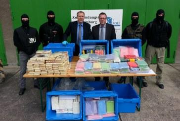 Erneut riesen Drogenfund bei Aldi in Berlin