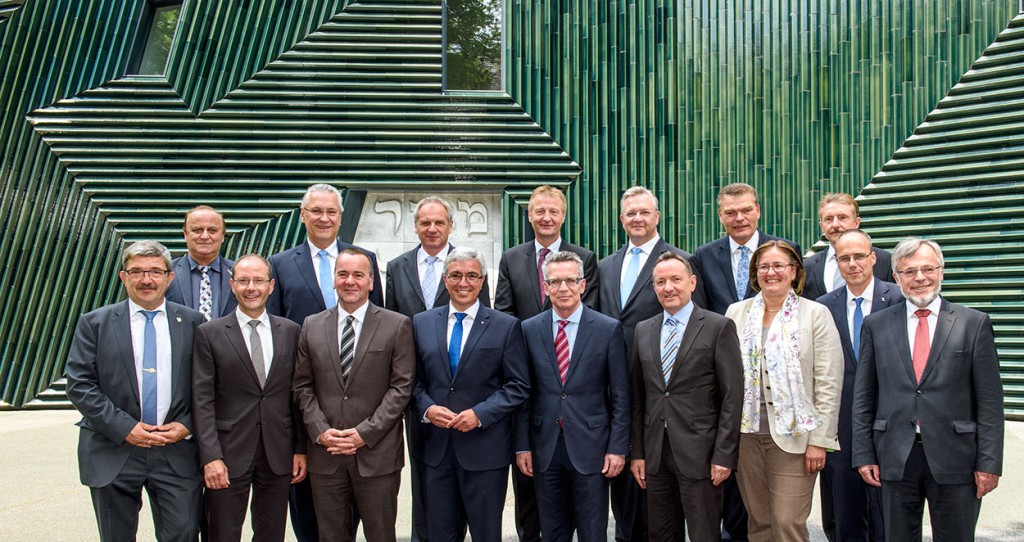 Gruppenbild der Minister auf der IMK   Foto: © IMK