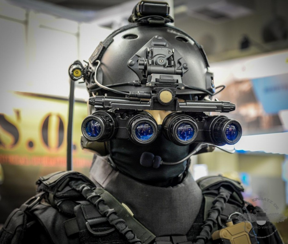 Moderne Optronik-Technik für Einsatzkräfte   Foto: © Tomas Moll