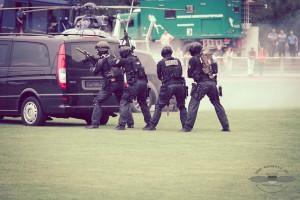 Fiktive Geisellage von SEK Frankfurt beendet | Fotos: © Andreas Trojak