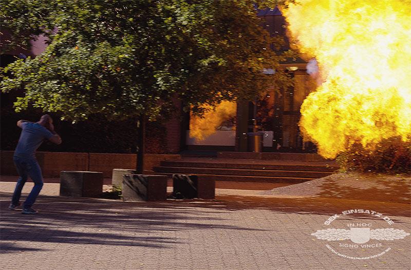 Explosion zur Ablegung   Symbolfoto: © Tomas Moll