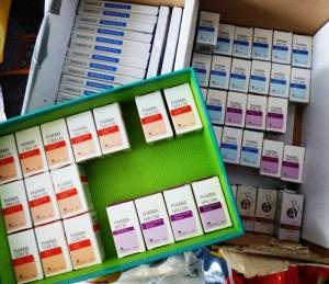 Die sichergestellten Dopingmittel | Foto: Zoll