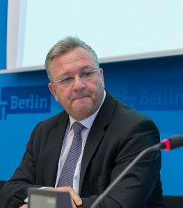 Berlins Innensenator Frank Henkel (CDU) Foto: Archiv / © Tomas Moll
