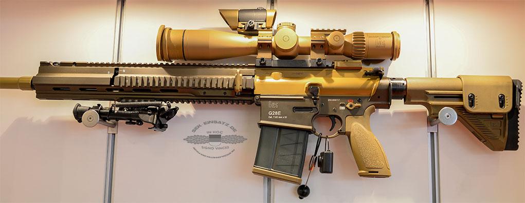 Moderne Waffen: Das HK G28E im Cal. 7.62x51 | Foto: © Tomas Moll