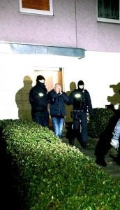 Festnahme durch die GSG 9 und BFE Plus in Strausberg | Foto: © Bundespolizei