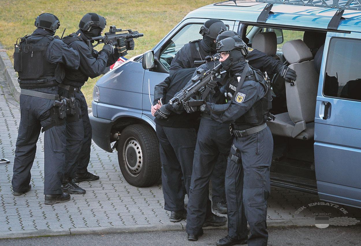 Neue Spezialeinheit BFE+ der Bundespolizei | Symbolfoto © Tomas Moll