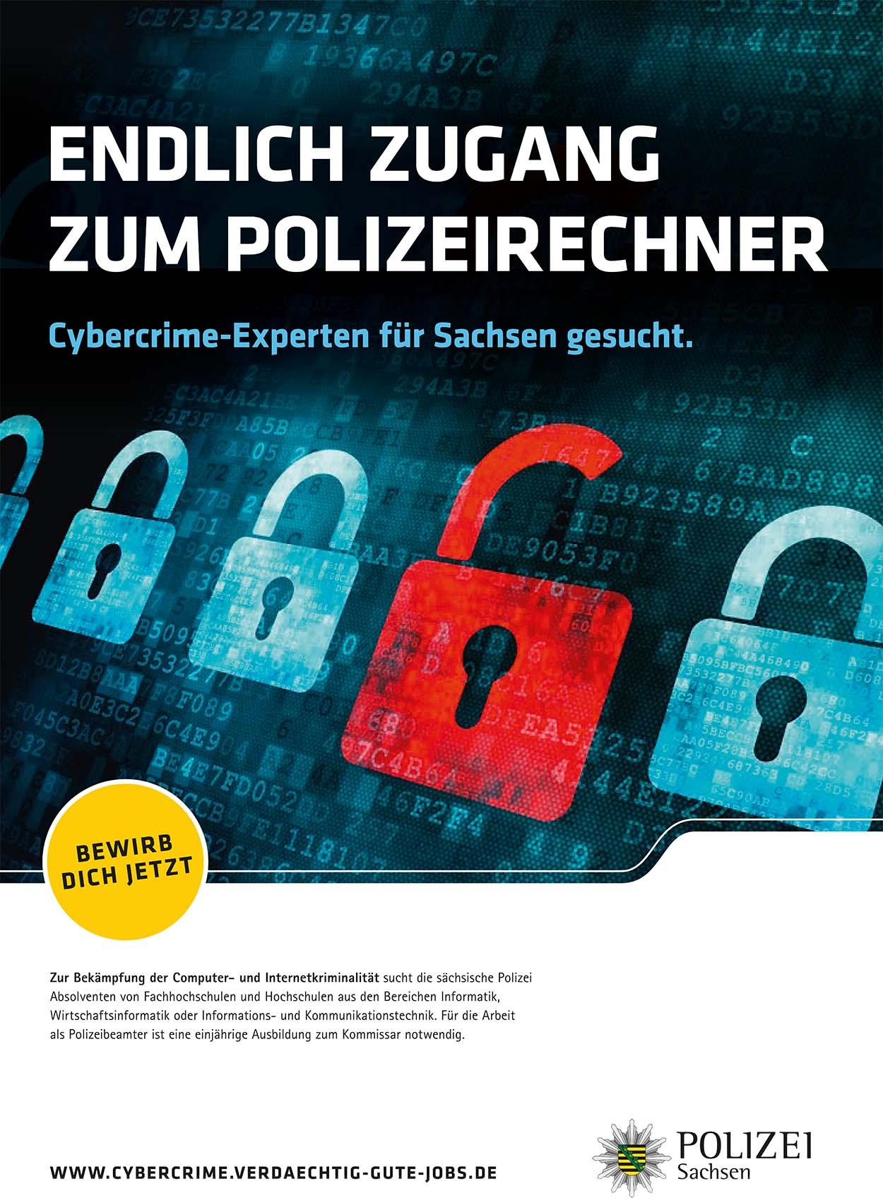 Cybercrime Experten gesucht | Grafik anklicken für mehr Informationen