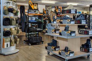 Blick in den Obramo Security Shop in Paderborn
