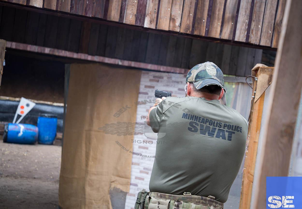 Polizeibeamte verschiedener Spezialeinheiten traten im Rahmen des 8. SFW (Special Forces Workshop) am 27.07.2016 in Güstrow zum Wettkampf an. Foto: © Tomas Moll