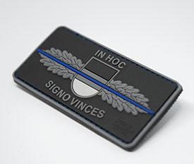 SEK-Einsatz.de Thin Blue Line Patch jetzt im Shop - Anzeige