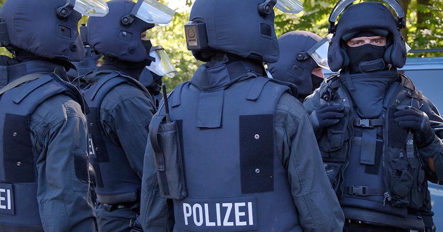 Polizeibeamte eines SEK | Symbolfoto: © fjmoll.de