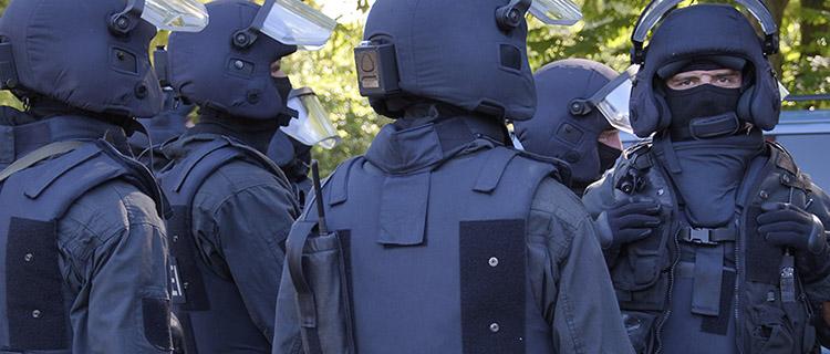 Polizeibeamte eines Spezialeinsatzkommandos NRW | Symbolfoto: © Tomas Moll | fjmoll.de