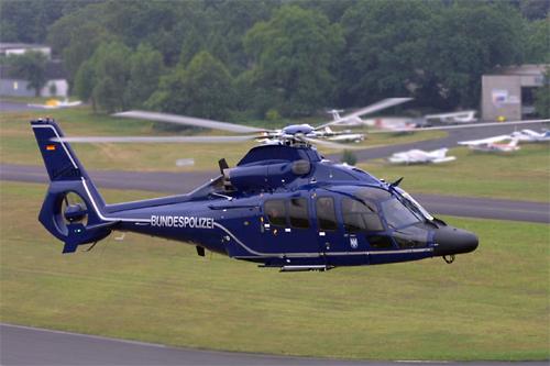 Der neue Eurocopter EC 155 B | Foto: © Bundespolizei