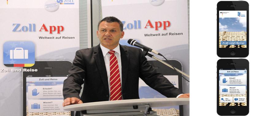Staatssekretär im BMF - Werner Gatzer - bei der Präsentation | Foto: © BMF/Zoll