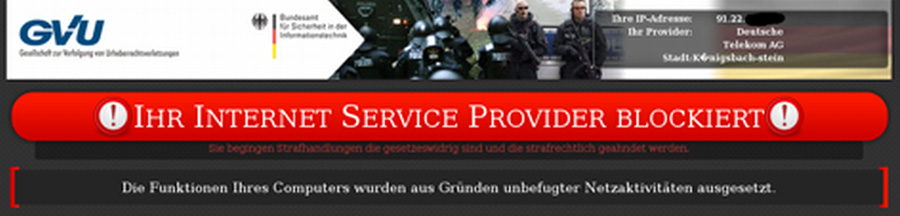 Screenshot der Schadsoftware | Foto: © BKA