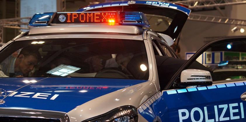 Symbolfoto Flahser auf der Ipomex 2013   Foto: © fjmoll.de
