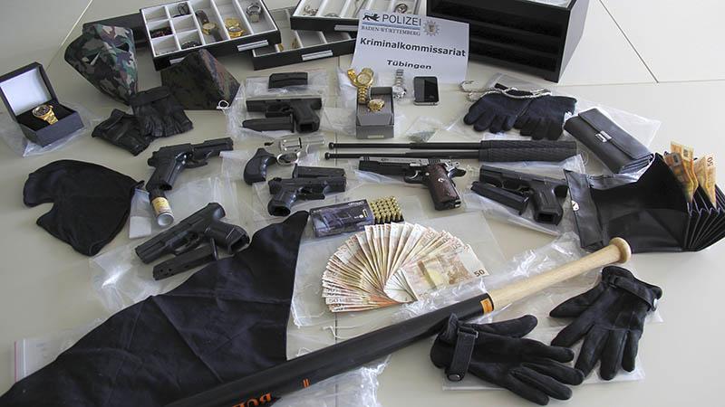sichergestellte Gegenstände | Foto: Polizei