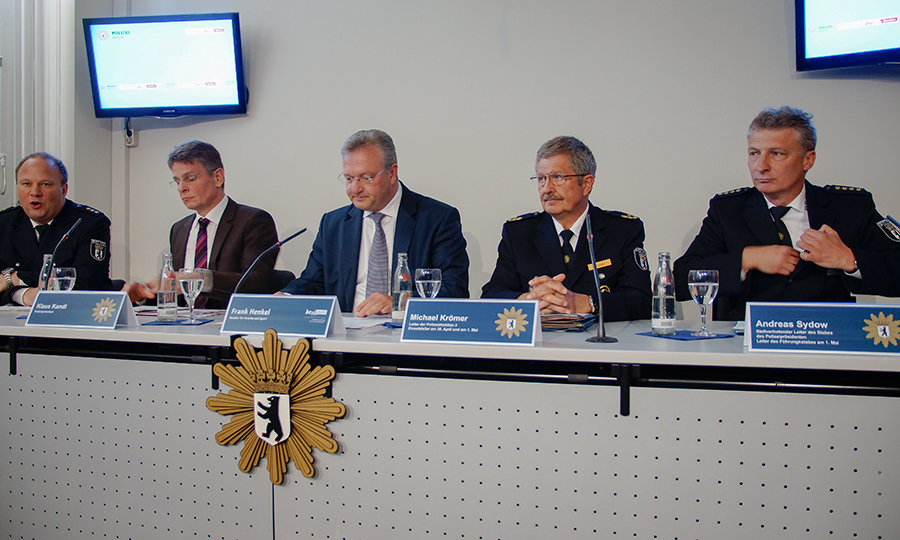 Pressekonferenz zum 01. Mai 2014 | Foto: © www.Fotojournalist.Berlin