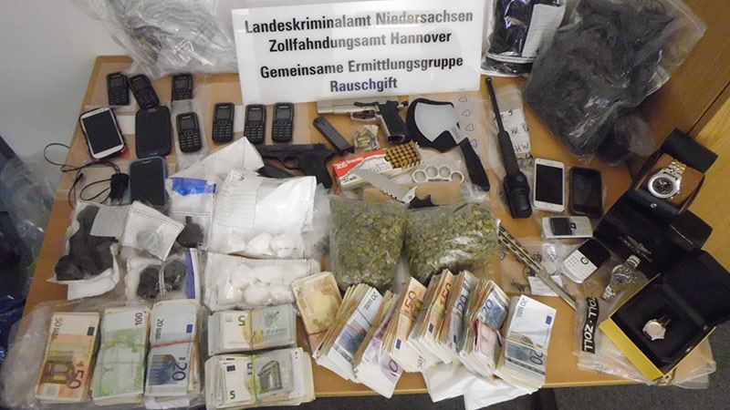 sichergestellte Beweismittel | Foto: © LKA Niedersachsen