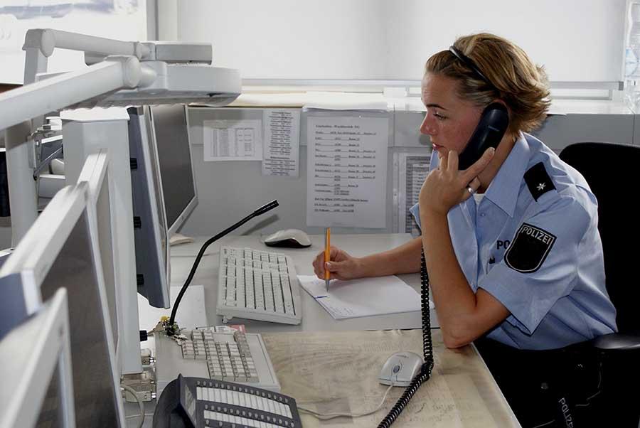 Hinweisannahme | Symbolfoto: © Polizei NRW