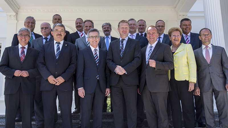 IMK Gruppenbild der Minister | Foto: © Jochen Tack