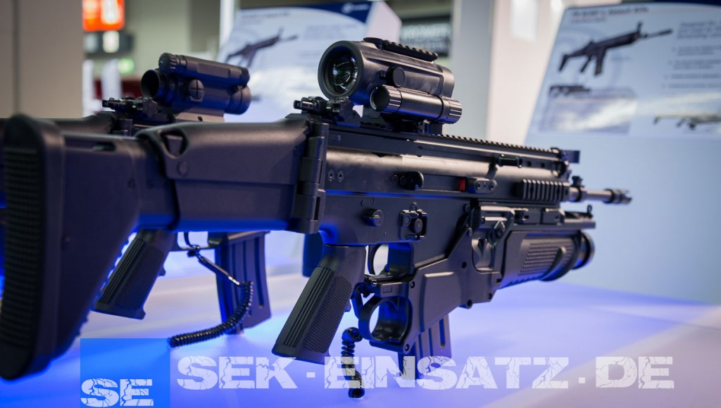 Ein FN SCAR-L mit FN40GL | Foto: © Tomas Moll