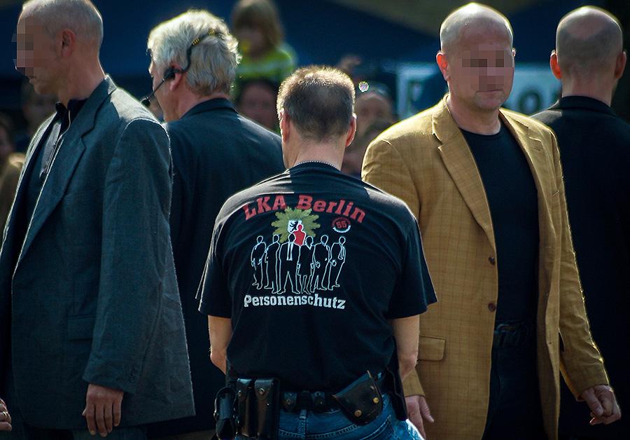 Der Personenschutz des LKA Berlin | Foto: © Tomas Moll